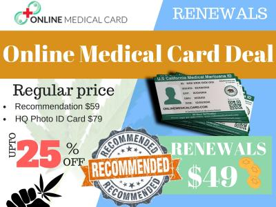 Online Medical Card makes the entire process of becoming a medical marijuana user easy and hassle free. Our 420 evaluation package includes: