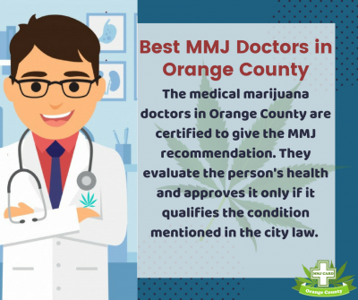 If you are looking for the cannabis recommendation from the authorized mmj doctors in Orange County, click online on Online Medical Card, Orange County. Here, you will get the 420 evaluations through the video chat without even bothering to see a doctor p